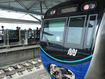 MRT Jakarta arkivbild