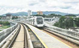MRT - Mass Rapid Transit in Malaysia. Stock Images