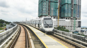 MRT - Mass Rapid Transit in Malaysia. Royalty Free Stock Images
