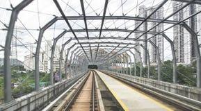 MRT - Mszalny Błyskawiczny transport w Malezja Zdjęcia Royalty Free