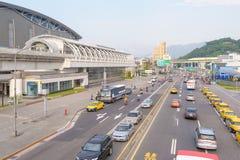 MRT Nangang station in taipei, taiwan Royalty Free Stock Photography