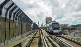 MRT - Schnelle Massendurchfahrt in Malaysia Lizenzfreie Stockbilder