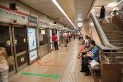 MRT a Singapore fotografie stock libere da diritti