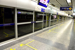 MRT stacja, Bangkok Obrazy Royalty Free