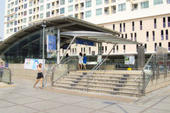 MRT Station, Bangkok Stock Images