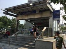 MRT Station, Bangkok Stock Photo