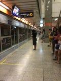 MRT Station, Bangkok Royalty Free Stock Images