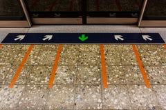 MRT station. Stock Photography