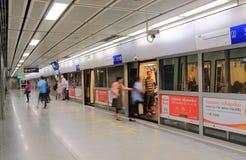 MRT subway station Bangkok Thailand Stock Photography
