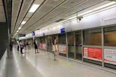 MRT subway station Bangkok Thailand Royalty Free Stock Images