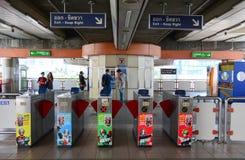 MRT train entrance in Bangkok Stock Image