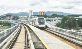 MRT - Transito rapido di massa in Malesia immagini stock