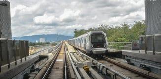MRT - Transito rapido di massa in Malesia fotografie stock libere da diritti