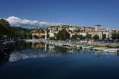 Mrtvi Kanal in Rijeka Kroatien Lizenzfreies Stockfoto