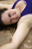 Mrużyć w pustyni świetle Zdjęcia Royalty Free