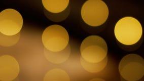 Mruganie dyskoteka zaświeca tło Bokeh światła zdjęcie wideo