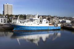 MRV Scotia - fiskeriforskningskyttel Fotografering för Bildbyråer