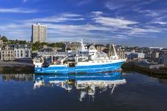 MRV Scotia i Aberdeen Fotografering för Bildbyråer