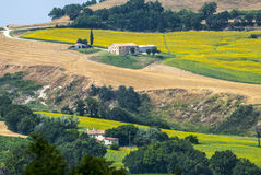 Märze (Italien), Landschaft Stockfoto