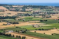 Märze (Italien) - Landschaft Lizenzfreies Stockbild