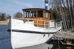 MS托尔,蒸汽小船 库存照片