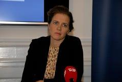 MS Министр Элена Trane-Norby детей и образования Стоковое Фото