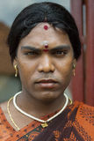 Ms. Abinaja is a Hijra, a transgender person. Stock Photography