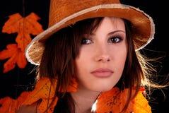 Ms Autumn. Royalty Free Stock Photos