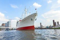 MS Cap San Diego in the port of Hamburg Stock Image