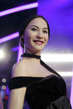 Ms cecilia cheung wax figure Stock Photography