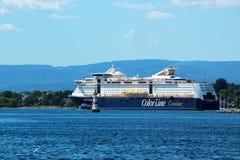 MS Color Fantasy em Oslo, Noruega imagem de stock royalty free