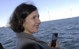 MS.DANA REIZNICE-OZOLA _MINISTER FOR LATVIA Royalty Free Stock Photography