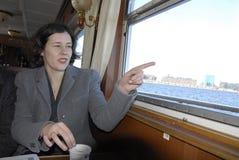 MS.DANA REIZNICE-OZOLA _MINISTER FOR LATVIA Stock Image