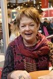 Ms DANSK FILMSTJÄRNA för GHITA NORBY (GHITA Nï ¿ ½ RBY) Royaltyfri Fotografi