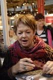 Ms DANSK FILMSTJÄRNA för GHITA NORBY (GHITA Nï ¿ ½ RBY) Fotografering för Bildbyråer