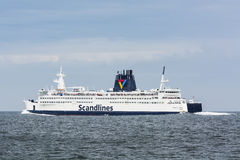 MS dinamarquês Kronprins Frederik da balsa de passageiro Fotografia de Stock Royalty Free