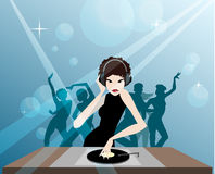 MS DJ Imagens de Stock