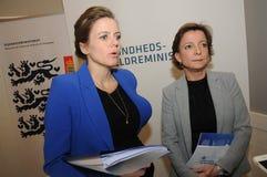 MS.ELLEN TRAN BORBY AND MS KAREN ELLEMANN JENSEN Stock Photos