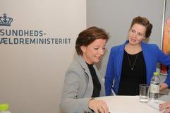 MS.ELLEN TRAN BORBY AND MS KAREN ELLEMANN JENSEN Stock Images
