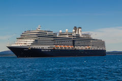 The MS Eurodam. The cruise ship MS Eurodam at anchor in Bar Harbor, Maine, USA Stock Photography