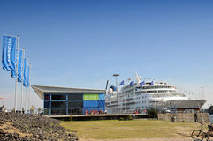 MS Europa  - one of the most luxury cruise ships ever Stock Photography