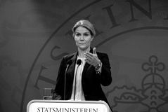 Ms.Helle Thorning-Schmidt danish prime minister Royalty Free Stock Image