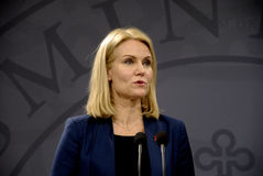 MS.HELLE THORNING-SCHMIDT_DANISH PRIME MINISTER Royalty Free Stock Images