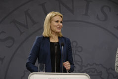 MS.HELLE THORNING-SCHMIDT_DANISH PRIME MINISTER Royalty Free Stock Image