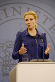 Ms.HELLE THORNING SCHMIDT_PRIME MINISTER Stock Photography