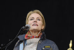 MS.HELLE THORNING-SCHMIDT_1ST MAY 2015 Stock Photos