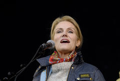 MS.HELLE THORNING-SCHMIDT_1ST MAY 2015 Royalty Free Stock Images
