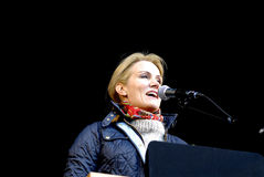 MS.HELLE THORNING-SCHMIDT_1ST MAY 2015 Stock Photography