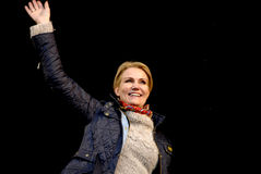 MS.HELLE THORNING-SCHMIDT_1ST MAY 2015 Royalty Free Stock Photos