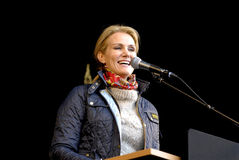 MS.HELLE THORNING-SCHMIDT_1ST MAY 2015 Stock Image
